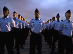 Will one of these airmen be falsely accused of rape?